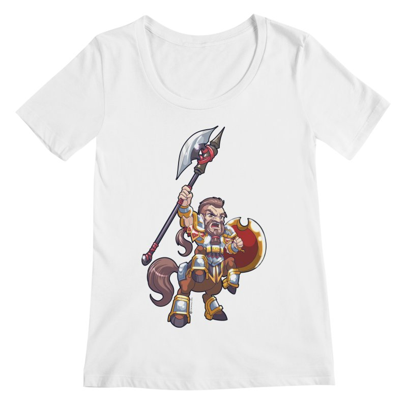 Chibi Series 1: Legionnaire Women's Regular Scoop Neck by Shirts by Noc