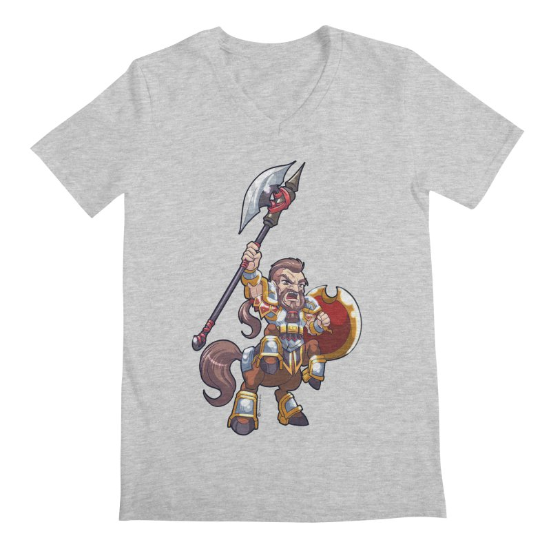 Chibi Series 1: Legionnaire Men's Regular V-Neck by Shirts by Noc