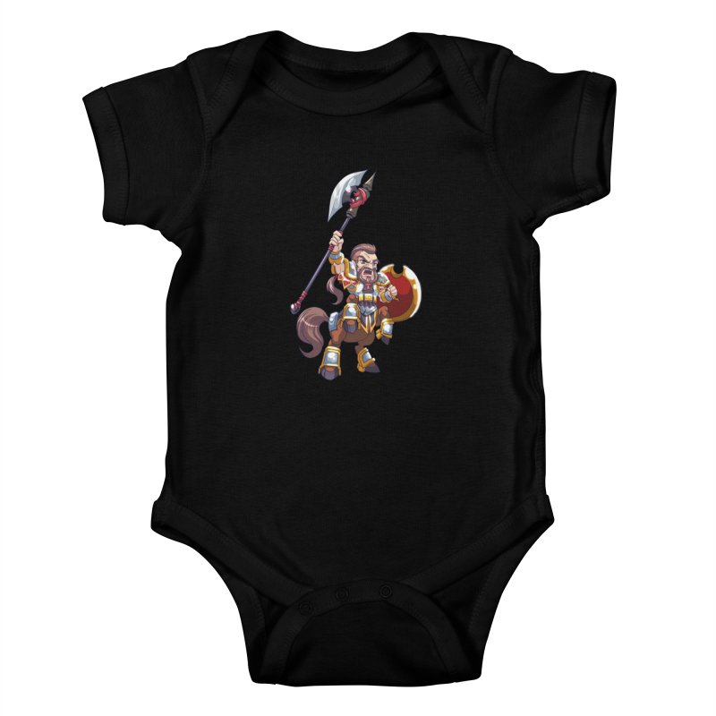 Chibi Series 1: Legionnaire Kids Baby Bodysuit by Shirts by Noc
