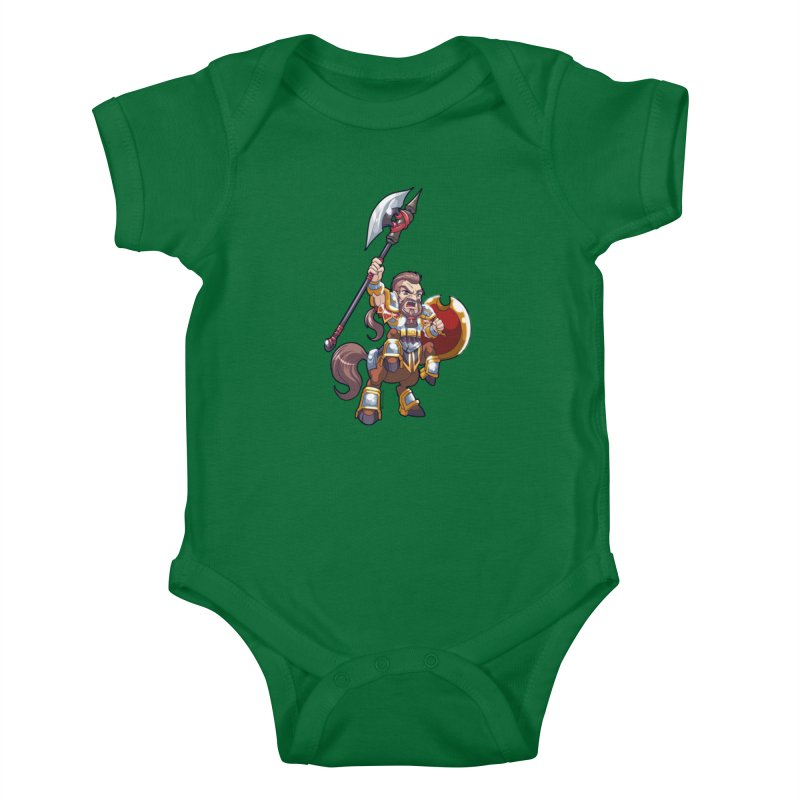 Chibi Series 1: Legionnaire Kids Baby Bodysuit by Shirts by Noc