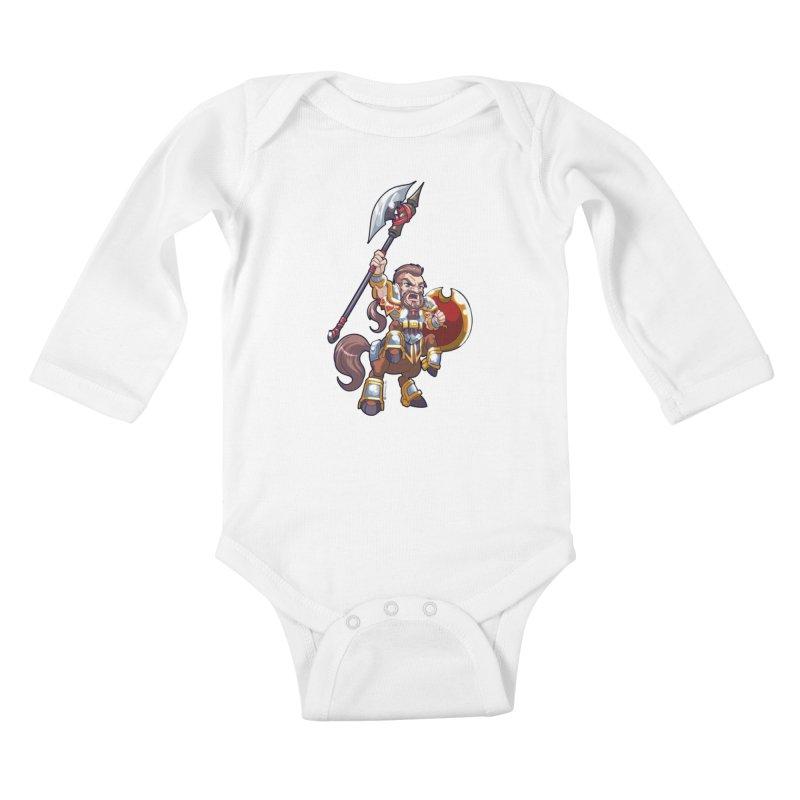 Chibi Series 1: Legionnaire Kids Baby Longsleeve Bodysuit by Shirts by Noc