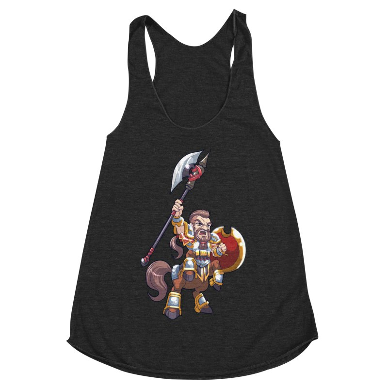 Chibi Series 1: Legionnaire Women's Racerback Triblend Tank by Shirts by Noc
