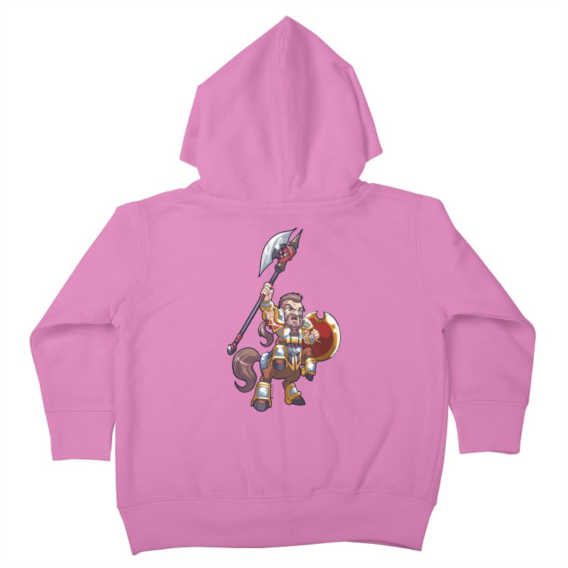 Chibi Series 1: Legionnaire Kids Toddler Zip-Up Hoody by Shirts by Noc