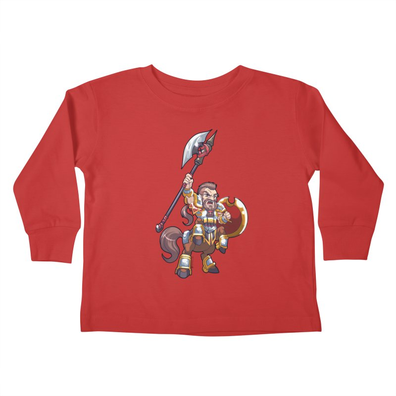 Chibi Series 1: Legionnaire Kids Toddler Longsleeve T-Shirt by Shirts by Noc