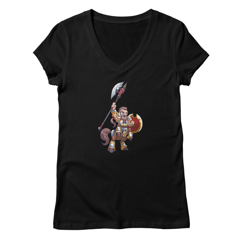 Chibi Series 1: Legionnaire Women's V-Neck by Shirts by Noc