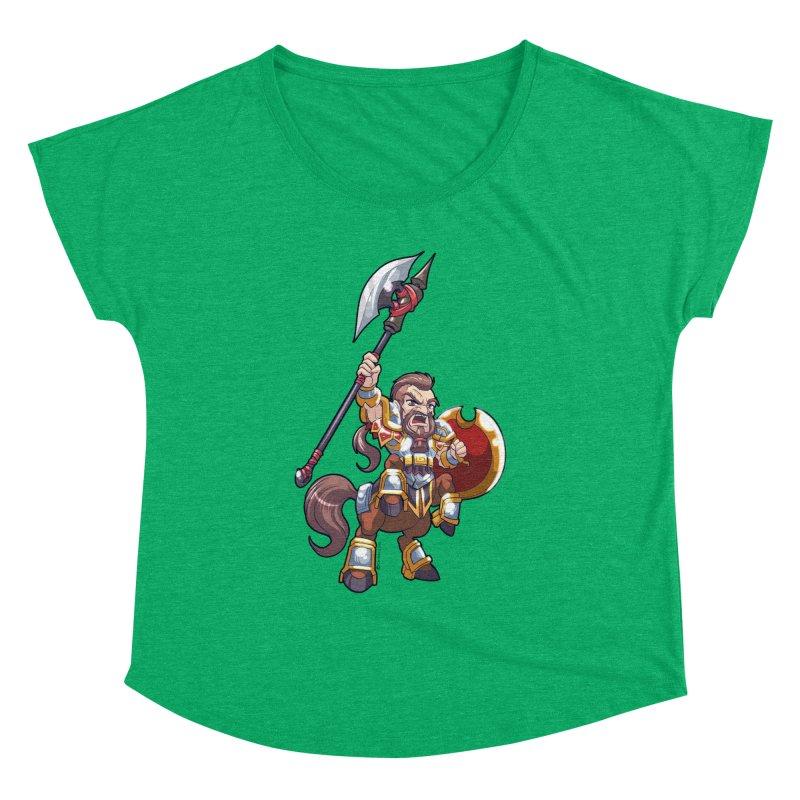 Chibi Series 1: Legionnaire Women's Dolman Scoop Neck by Shirts by Noc