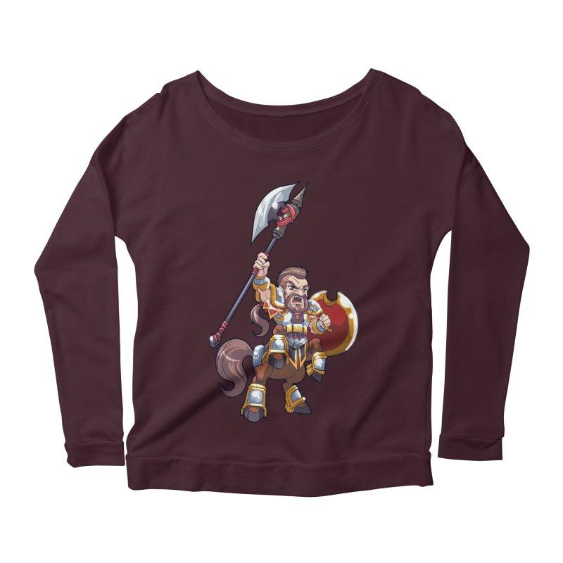 Chibi Series 1: Legionnaire Women's Scoop Neck Longsleeve T-Shirt by Shirts by Noc