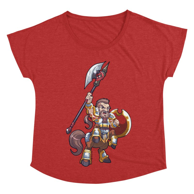 Chibi Series 1: Legionnaire Women's Scoop Neck by Shirts by Noc