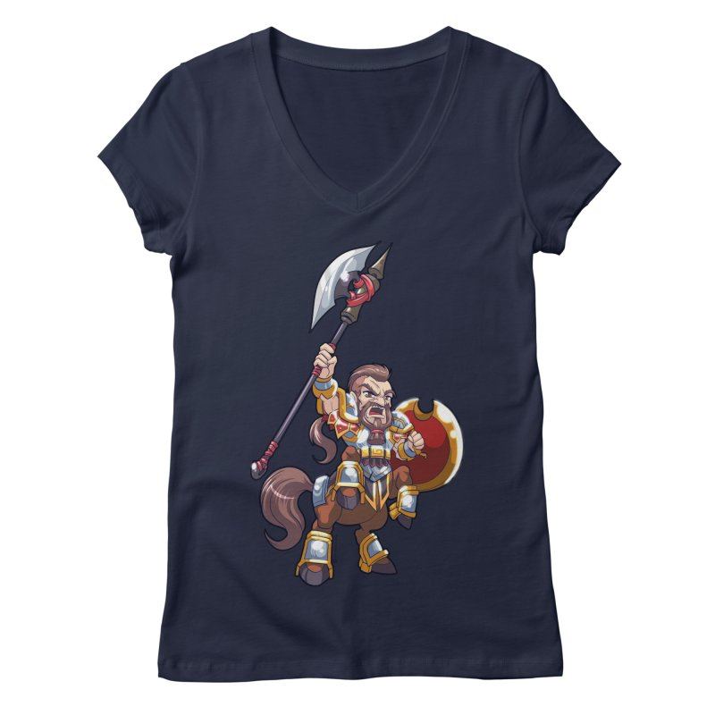 Chibi Series 1: Legionnaire Women's Regular V-Neck by Shirts by Noc