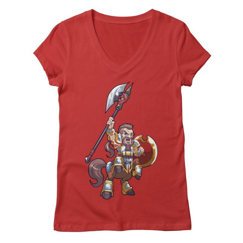 Chibi Series 1: Legionnaire Women's Regular V-Neck by Shirts by Noc