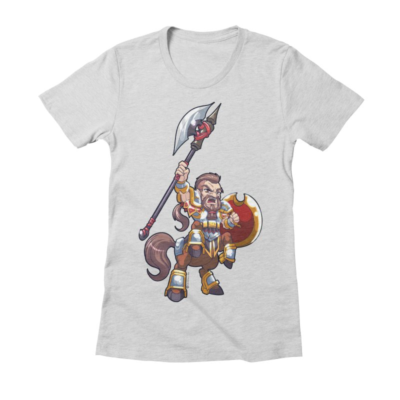Chibi Series 1: Legionnaire Women's Fitted T-Shirt by Shirts by Noc