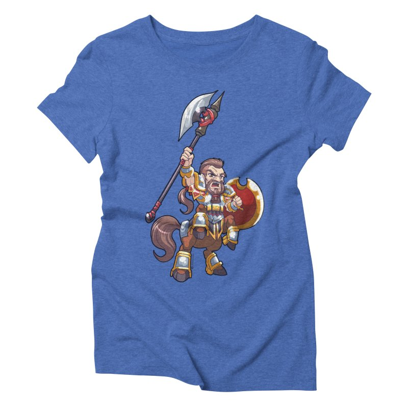 Chibi Series 1: Legionnaire Women's Triblend T-Shirt by Shirts by Noc