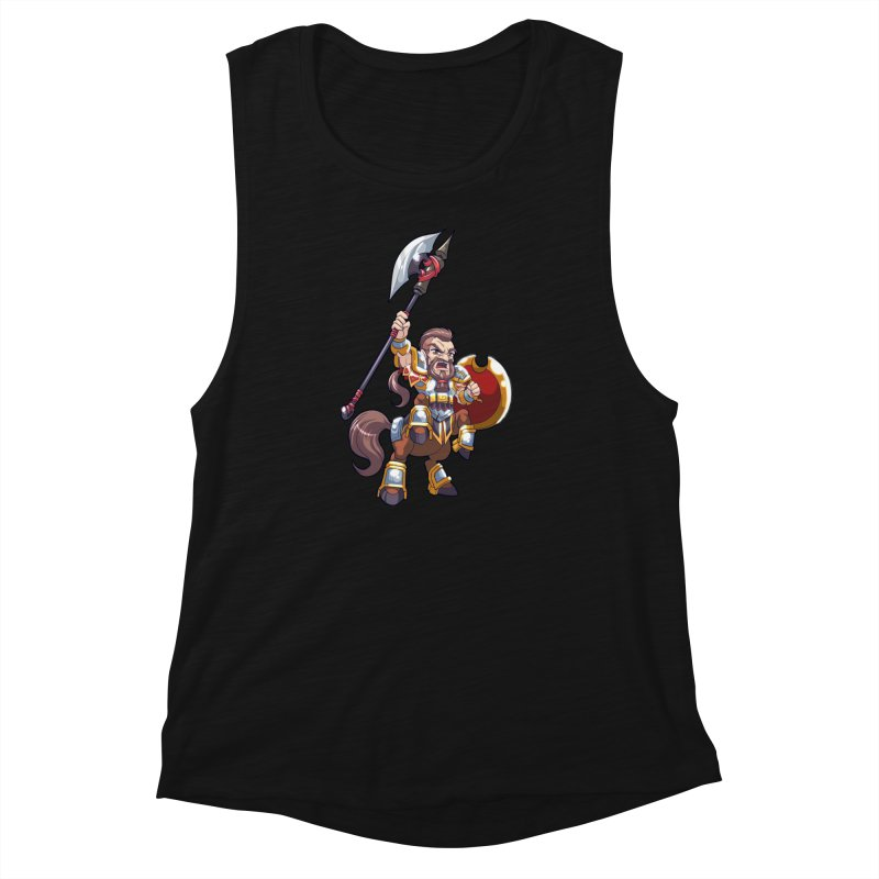 Chibi Series 1: Legionnaire Women's Muscle Tank by Shirts by Noc