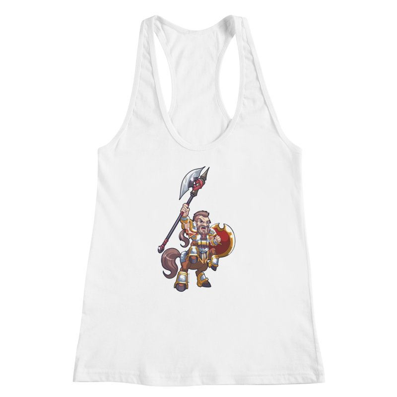 Chibi Series 1: Legionnaire Women's Racerback Tank by Shirts by Noc