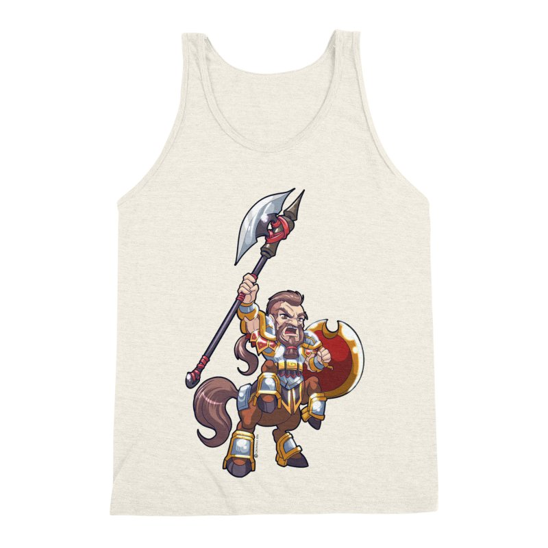 Chibi Series 1: Legionnaire Men's Triblend Tank by Shirts by Noc