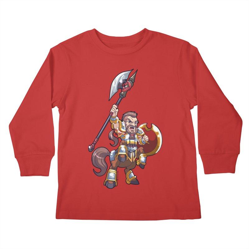Chibi Series 1: Legionnaire Kids Longsleeve T-Shirt by Shirts by Noc