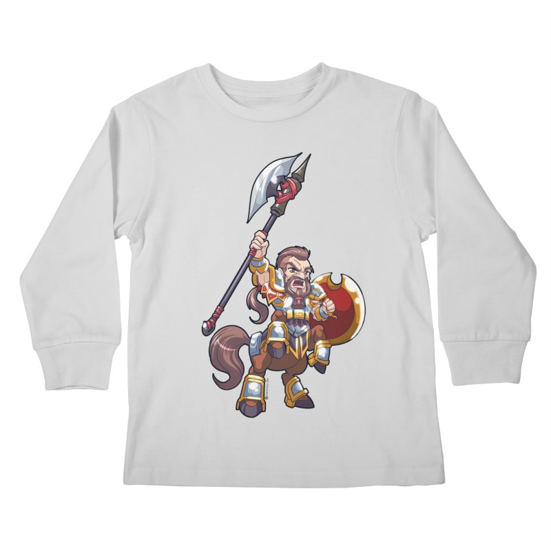 Chibi Series 1: Legionnaire Kids Longsleeve T-Shirt by Shirts by Noc
