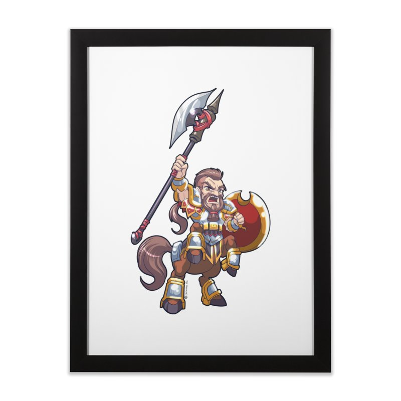 Chibi Series 1: Legionnaire Home Framed Fine Art Print by Shirts by Noc