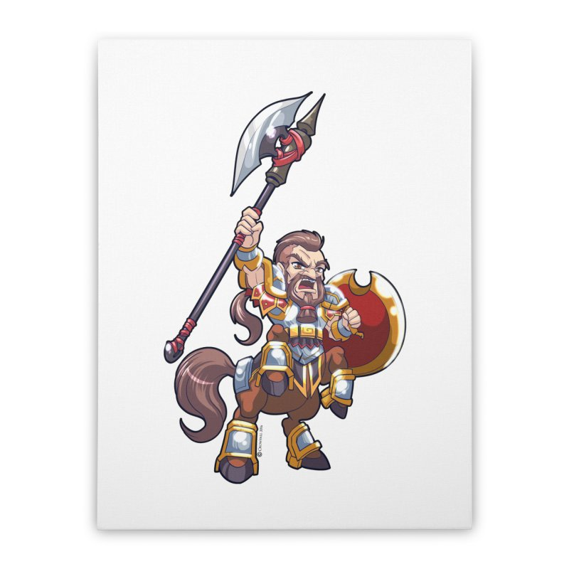 Chibi Series 1: Legionnaire Home Stretched Canvas by Shirts by Noc