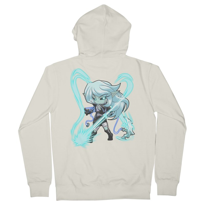 Chibi Series 1: Frostweaver Women's Zip-Up Hoody by Shirts by Noc