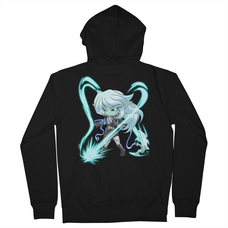 Chibi Series 1: Frostweaver Men's Zip-Up Hoody by Shirts by Noc