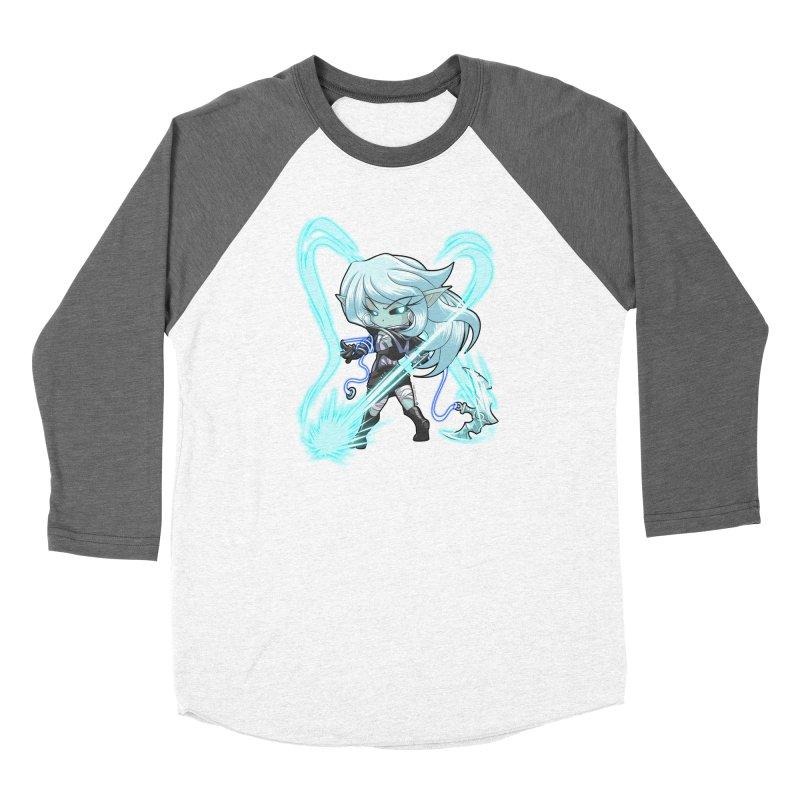 Chibi Series 1: Frostweaver Men's Baseball Triblend Longsleeve T-Shirt by Shirts by Noc