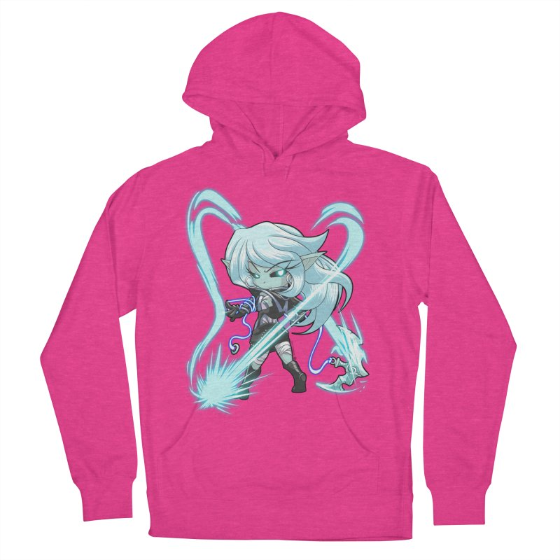 Chibi Series 1: Frostweaver Men's French Terry Pullover Hoody by Shirts by Noc