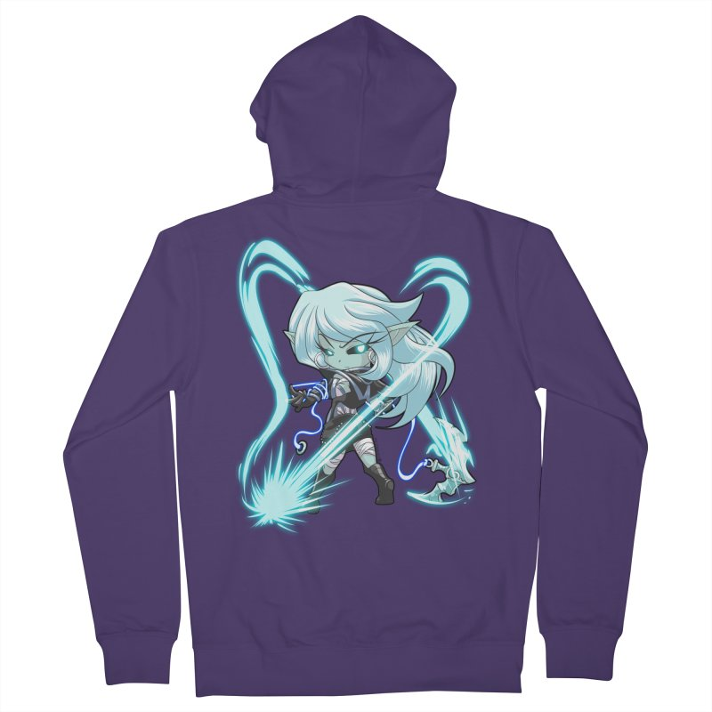 Chibi Series 1: Frostweaver Women's French Terry Zip-Up Hoody by Shirts by Noc