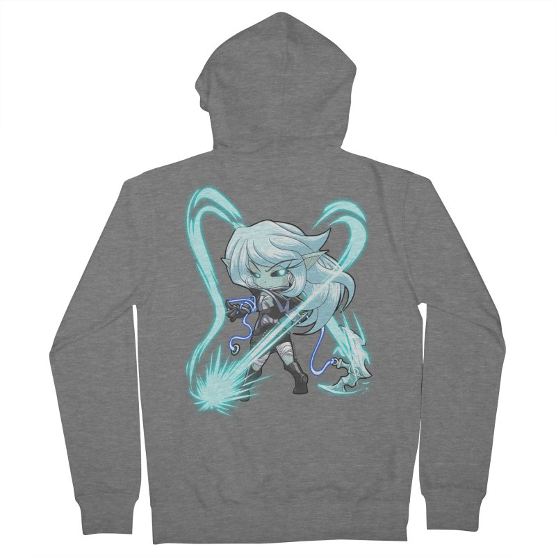 Chibi Series 1: Frostweaver Men's French Terry Zip-Up Hoody by Shirts by Noc