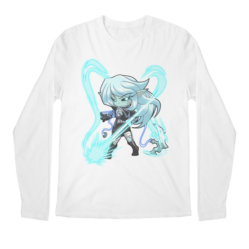Chibi Series 1: Frostweaver Men's Regular Longsleeve T-Shirt by Shirts by Noc