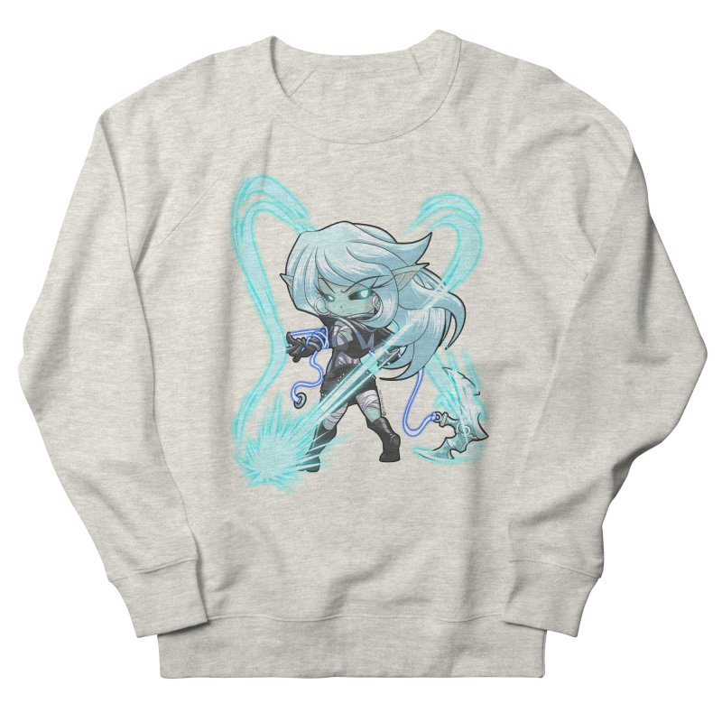 Chibi Series 1: Frostweaver Women's French Terry Sweatshirt by Shirts by Noc