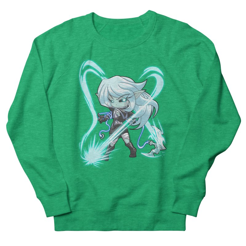 Chibi Series 1: Frostweaver Men's French Terry Sweatshirt by Shirts by Noc