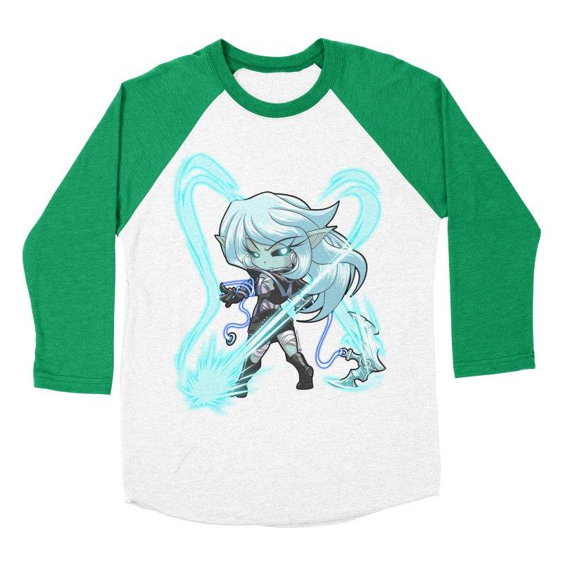 Chibi Series 1: Frostweaver Women's Baseball Triblend Longsleeve T-Shirt by Shirts by Noc