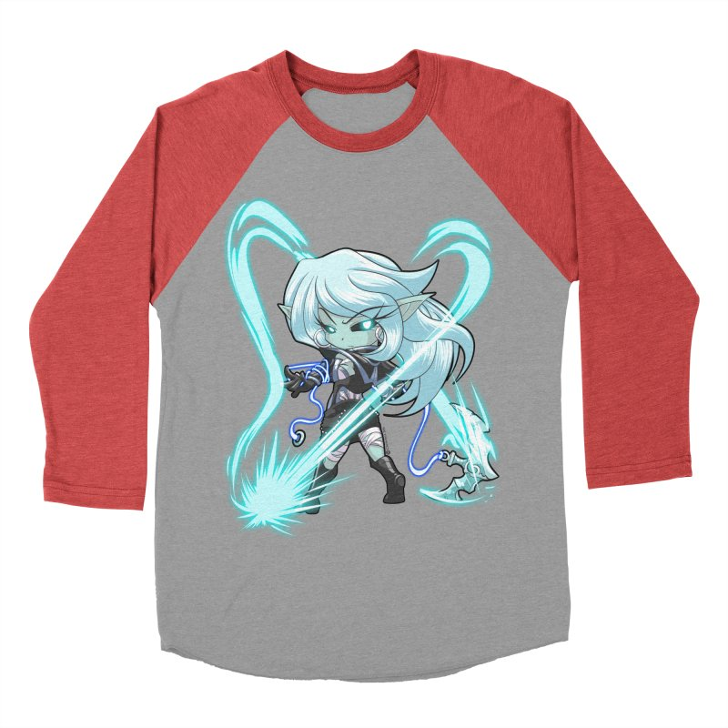 Chibi Series 1: Frostweaver Men's Baseball Triblend T-Shirt by Shirts by Noc