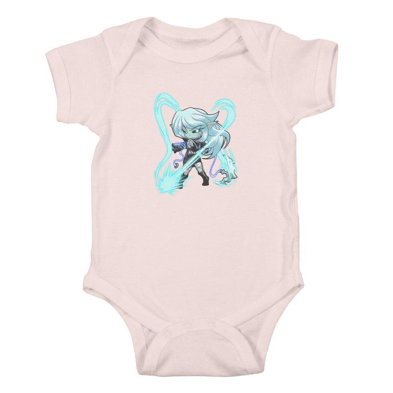 Chibi Series 1: Frostweaver Kids Baby Bodysuit by Shirts by Noc