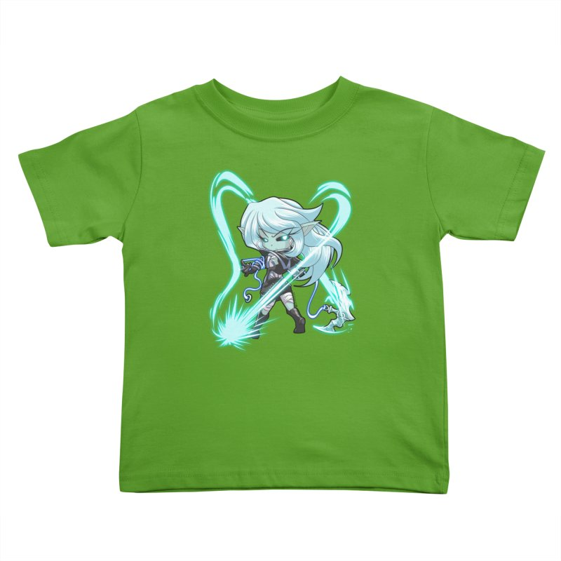 Chibi Series 1: Frostweaver Kids Toddler T-Shirt by Shirts by Noc