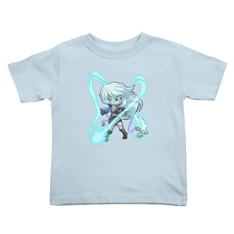 Chibi Series 1: Frostweaver Kids Toddler T-Shirt by Shirts by Noc