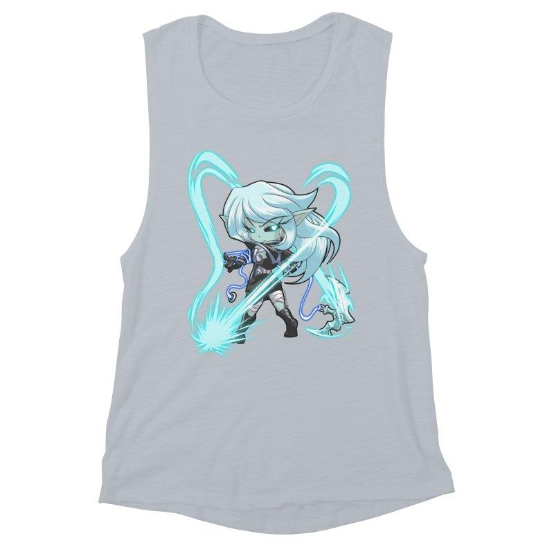 Chibi Series 1: Frostweaver Women's Muscle Tank by Shirts by Noc