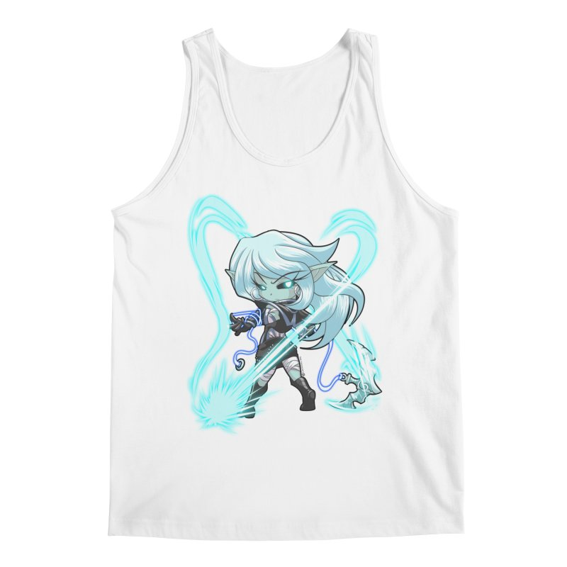 Chibi Series 1: Frostweaver Men's Tank by Shirts by Noc