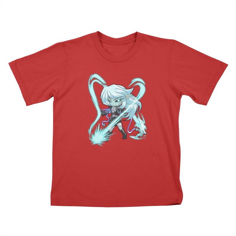Chibi Series 1: Frostweaver Kids T-Shirt by Shirts by Noc