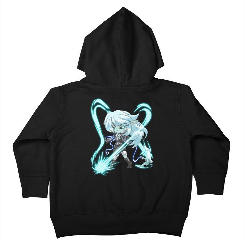 Chibi Series 1: Frostweaver Kids Toddler Zip-Up Hoody by Shirts by Noc