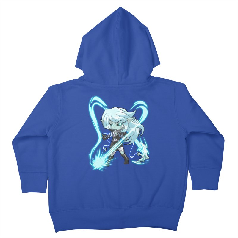 Chibi Series 1: Frostweaver Kids Toddler Zip-Up Hoody by Shirts by Noc