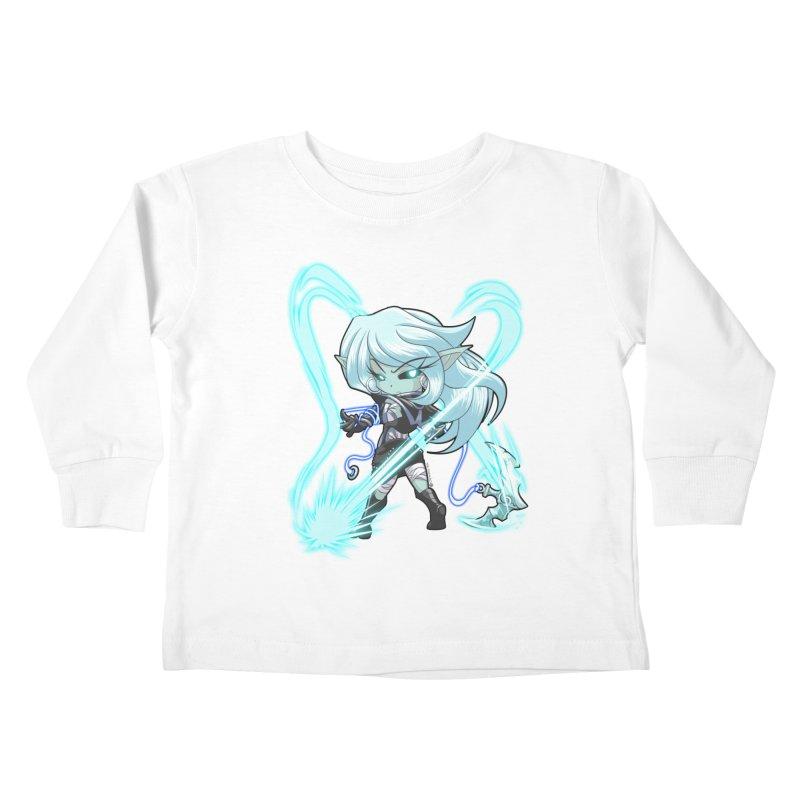 Chibi Series 1: Frostweaver Kids Toddler Longsleeve T-Shirt by Shirts by Noc