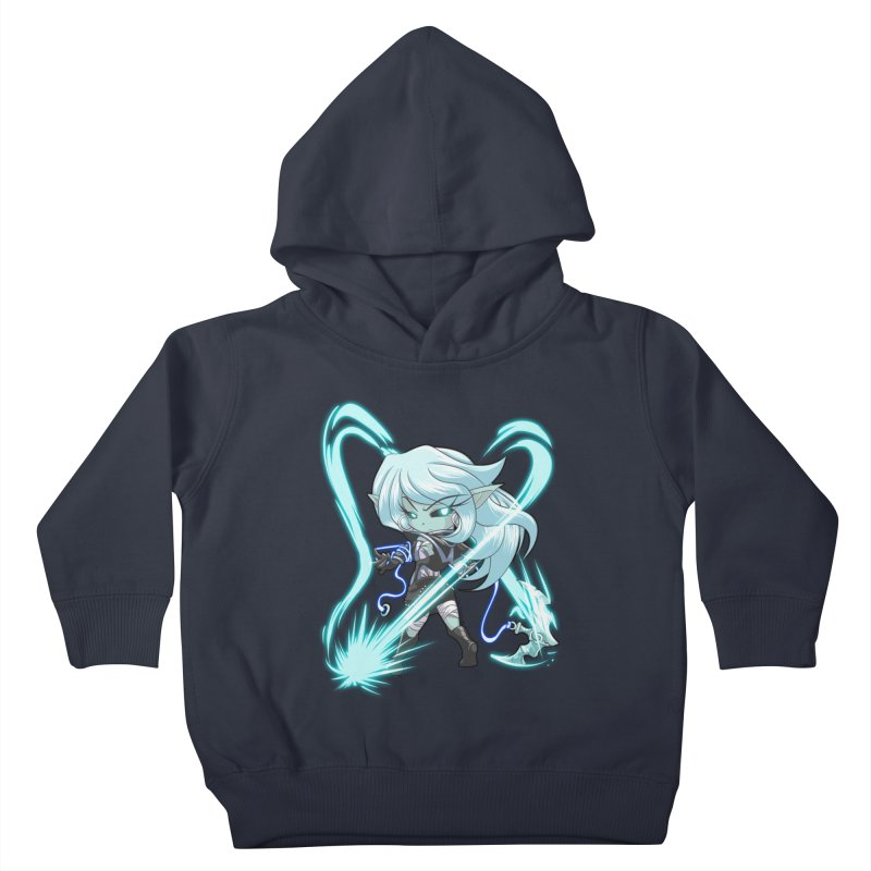 Chibi Series 1: Frostweaver Kids Toddler Pullover Hoody by Shirts by Noc