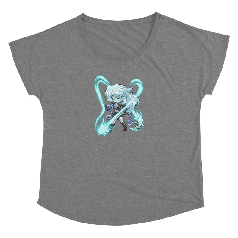 Chibi Series 1: Frostweaver Women's Scoop Neck by Shirts by Noc