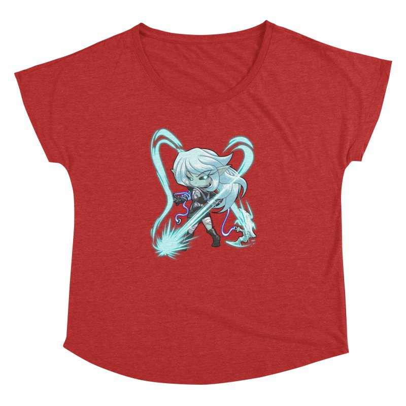Chibi Series 1: Frostweaver Women's Dolman Scoop Neck by Shirts by Noc