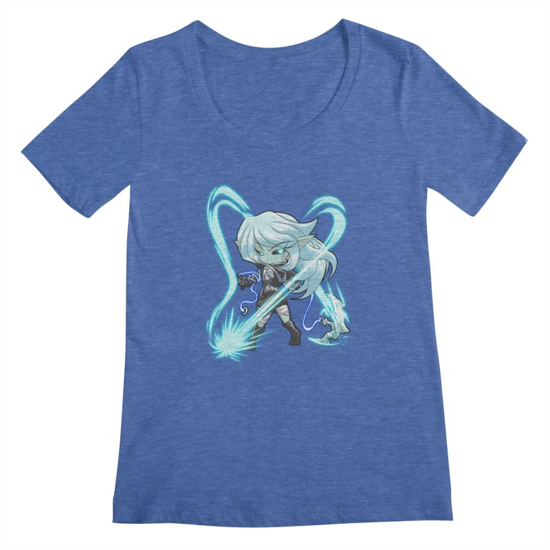 Chibi Series 1: Frostweaver Women's Regular Scoop Neck by Shirts by Noc