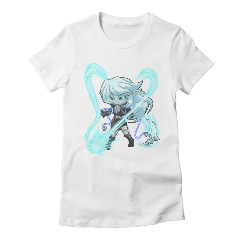 Chibi Series 1: Frostweaver Women's Fitted T-Shirt by Shirts by Noc