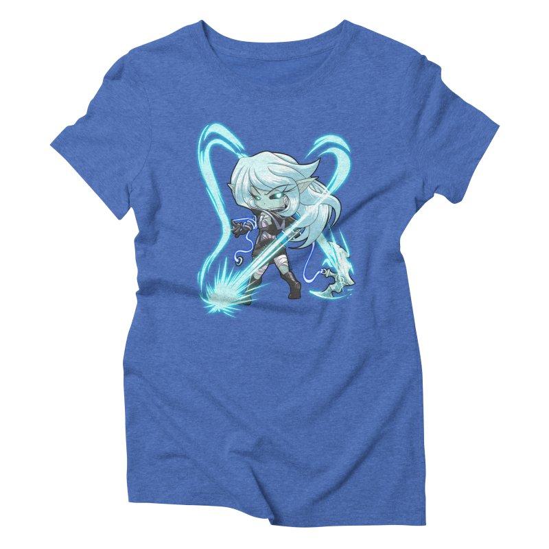 Chibi Series 1: Frostweaver Women's Triblend T-Shirt by Shirts by Noc