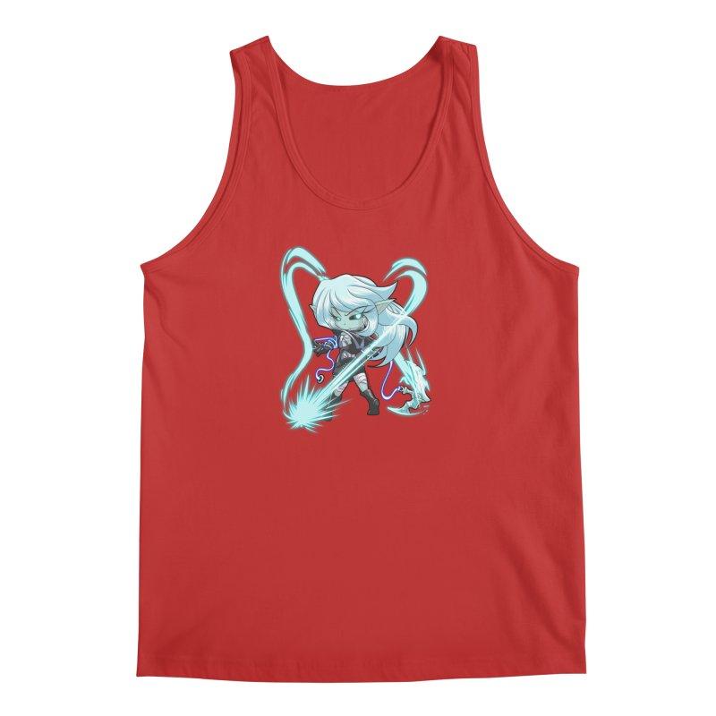 Chibi Series 1: Frostweaver Men's Tank by Shirts by Noc